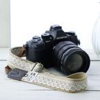 Yahoo Shopping - カメラストラップ camera strap 一眼レフ ミラーレス一眼用 レースベージュ フリータイプ