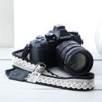 Baby, Kids, Maternity - カメラストラップ camera strap 一眼レフ ミラーレス一眼用 レースブラック フリータイプ