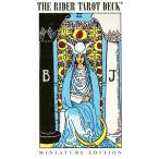 �饤���� ����åȥ����� ���ܤΥ����� �ߥ˥����� ����å� The Rider Tarot Deck Miniature edition �ꤤ �������� waite