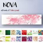 ファブリックパネル L-Lサイズ 30cm × 120cm 北欧 デザイン ボーダー イラスト 水玉 横ライン 綺麗 女性人気 ストライプ 桜 日本 和風