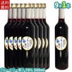 【送料無料】70%ブルーベリー飲料(500ml×9本+1本)/岩手県遠野産ブルーベリー使用