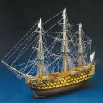 帆船模型 木製模型 キット マンチュアモデル ビクトリー(パナルト)