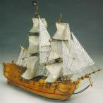 帆船模型 木製模型 キット マンチュアモデル ブラックファルコン