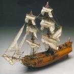 帆船模型 木製模型 キット マンチュアモデル ゴールデンスター