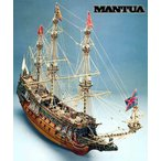 帆船模型 木製模型 キット マンチュアモデル ソブリンオブザシーズ