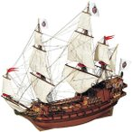 帆船模型 木製模型 キット アークレー アポストールフェリーペ