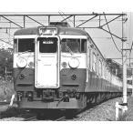 国鉄/JR 115系 初期車 非冷房 横須賀色 サロ165-14・15 車体キット     【カツミ・KTM-278】