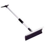 RVロング除雪ブラシ 伸縮式 雪かき 除雪作業
