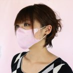 エヌ・ティ・シー 立体マスク ピンク (お得用50枚入) 使い捨て 花粉対策 清掃 作業用 埃 粉塵 ウイルス 風邪