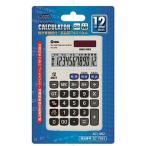 【送料無料】 オーム電機★12桁電卓、ビジネス税計算機能付/KCL-002(07-7983m)