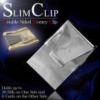 マネークリップ メンズ 財布 お札 カード スリム コンパクト ポケット 収納 薄型 大容量 ダブルサイドマネークリップ c-83263m メール便送料無料