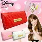 送料無料 キーケース Disney ディズニー ミッキー マウス キルティング 4リング キーケース (fa-nfs1404-01-03m)