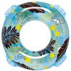 うきわ カウアイ島 子供 大人 夏 水遊び 海 プール 海水浴 男性 女性 おしゃれ 浮き輪 カウアイウキワ ブルー 90cm RLP-590 ig-0348