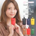 盗難防止 リレーアタック 対策 キーケース 本革 磁気防止 RFID スキミング防止 磁気遮断 電波遮断 ケース スマートキーケース rs-bag-605m メール便送料無料