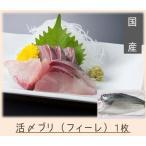 送料無料 活〆ブリ(国産)フィーレ1枚(原魚約4kg)