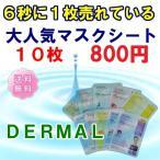 【DERMAL】送料無料 エッセンスマスク 10枚セット_韓国コスメ