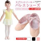 バレエシューズ 総キャンバス (ゴムクロス) ピンク ブラック ホワイト バレエ用品