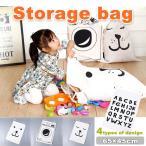 ストレージバッグ バック 巾着袋 帆布 キャンバスバッグ おもちゃ入れ 玩具入れ お片付けバック BAG かばん 子供部屋 収納 大袋 ビックサイズ