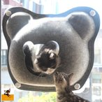 ペット用 猫 キャット ねこ 室内用 吸盤 ハンモック キャットタワー休憩 ペット リラックス ベッド お昼寝 窓ガラス おしゃれ バルコニー ウィン