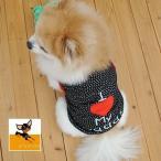 犬服 ドッグウェア 犬用ウェア 犬用シャツ タンクトップ ロゴ 水玉 ドット柄 袖なし ノースリーブ 洋服 ペット用 超小型犬用 小型犬用 中型犬用