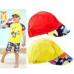 ショッピング水泳帽 水泳帽 スイムキャップ つば付き ツバ付き 帽子 キャップ 子供用 日焼け防止 UV対策 熱中症対策 日除け 日よけ 夏 プール 海水浴 ビーチ 水遊