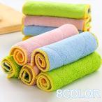 食器洗い布巾 布巾 キッチン布巾 吸水性 柔らか カラフル グリーン イエロー ピンク ブルー 厚手