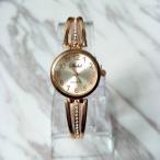 レディース腕時計 腕時計 アナログ腕時計 メタルバンド 時計 レディース アナログ ウォッチ 秒針 アラビアンインデックス メタル ラインストーン 華