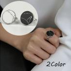 指輪 ファッションリング 大きめ レディース メンズ 男女兼用 ユニセックス アクセサリー レトロ感 マーブル調 大理石風 白 黒 カジュアル シンプ