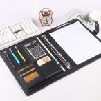 クリップボード A4 ビジネス 多機能 収納 ノート システム手帳 カバー バインダー 多機能フォルダ ビジネスノート ルーズリーフ クリップホルダー