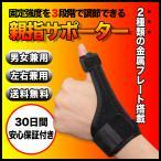 左右兼用 フリーサイズの親指サポーター 腱鞘炎やバネ指に