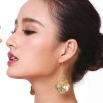 ピアス ヘッドアクセサリー セット ベリーダンス アクセサリー ダンス衣装 コイン装飾 ミカドレス cy16-pierced-headacce