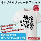 オリジナル名入れメッセージTシャツ ギフト プレゼント 面白 ふざけTシャツ おもしろ雑貨 パーティーグッズ おもしろTシャツ 半袖 漢字 メール便送料無料