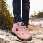 EVIICC スノーブーツ メンズ 冬用 スニーカー ブーツ 裏起毛 防寒靴 ボア ムートンブーツ ショートブーツ ハイカット レスアップ