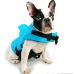 SEHOO犬ライフジャケット 小型犬 中型犬 ペッ ト用品 救命胴衣 小動物 サメ 人魚 水泳 小型犬 中型犬 浮力が抜群 速乾性 安全を守