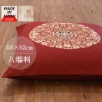 座布団 カバー 日本製 座布団カバー 八端判 59×63 和柄 ざぶとんカバー 綿100% 5枚以上で送料半額 10枚以上で送料無料