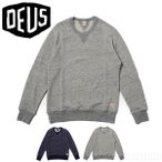 �ǥ����������ޥ��� Deus Ex Machina �������å� �ȥ졼�ʡ� Terry Slub Crew Sweater DMP78508