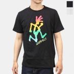 在庫処分タイムセール!グラミチ GRAMICCI メンズ レディース タイダイランニングマンTシャツ TIE DYE RUNNINGMAN  GUT-20S065 売れ筋