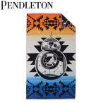 ペンドルトン PENDLETON オーバーサイズジャガードタオル スターウォーズコレクション 40周年記念 BB-8 XB233-53377 【送料無料】
