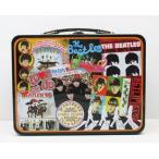 ビートルズ The Beatles スクエア/ジャケット総柄 TIN缶BOX ランチバッグ ブリキ缶バッグ
