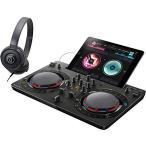 PIONEER DJスタートセット DDJ-WEGO4-K + ATH-S100(DJコントローラー + ヘッドホン) (ブラック)