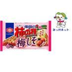 みっけ!1袋220円(税別)のまとめて箱買い 亀田製菓 亀田の柿の種梅しそ6袋詰 182g 12袋セット