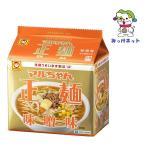 【1個428円(税抜き)の1箱(6個)まとめ買い】東洋水産 マルちゃん正麺 味噌味  5食パック  1箱セット