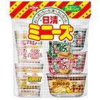 みっけ!1個85円(税別)のまとめて箱買い 日清食品 ミニーズ西(人気らーめん5種) 6袋(30個)セット (カップ麺)