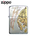 ZIPPO(ジッポー) オイルライター 電鋳板 タイガー
