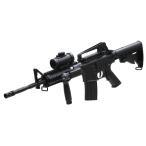 RSBOX 予備マガジン付き1コルトM4A1 M16バージョン高性能アサルトライフル 電動ガン ドットサイト搭載モデルM83エアガン