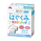 森永 粉ミルク はぐくみ エコらくパック つめかえ用  800g(400g×2袋)