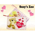 Suzy's Zooスージーズーのフラットポーチ使いやすいサイズ  メール便発送 ポイント消化