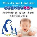 【ミルフェルム】クールベスト冷却衣保冷剤セット ひんやり 冷たい 通気性・速乾性抜群 背中・わき・脚の付け根を同時冷却できる冷却衣 猛暑 出産祝い