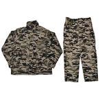 SW製 COSD デザート系 ウッドランド 迷彩服 戦闘服 上下セット ワッペン付