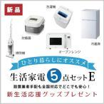 5E新生活家電セット一式[typeE](冷凍冷蔵庫・